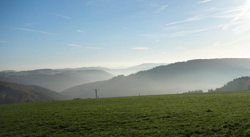 Weite Blicke, frische Luft und Freiheit – Einladung zum Wandern, Radfahren und Seele baumeln lassen.