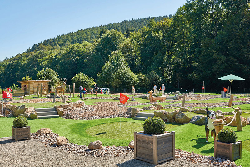 Kallbach's Adventure Golf in der Eifel